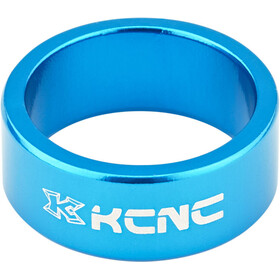 "KCNC Headset Spacer 1 1/8"" 14mm blue"